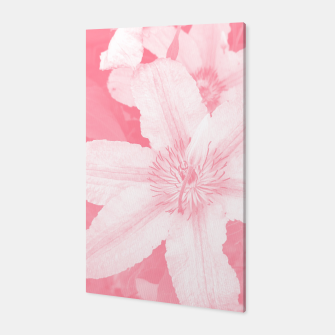 clematis 1 pw Canvas thumbnail image