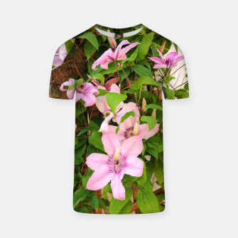 Thumbnail image of clematis 2 orig T-shirt, Live Heroes
