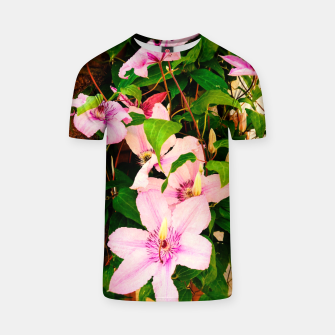 Thumbnail image of clematis 2 std T-shirt, Live Heroes