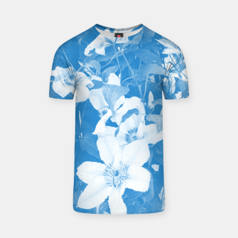 Thumbnail image of clematis 2 wb T-shirt, Live Heroes