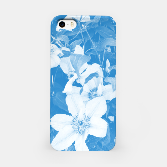clematis 2 wb iPhone Case thumbnail image