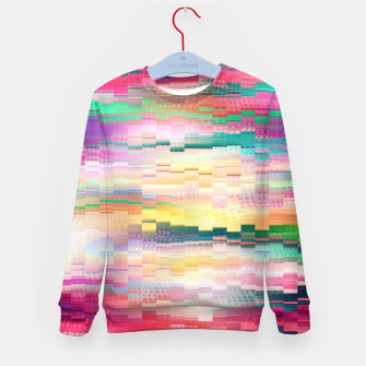Vivid Pattern Kid's sweater obraz miniatury