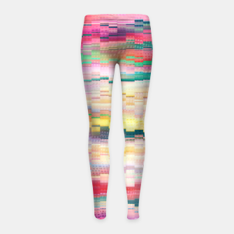 Vivid Pattern Girl's leggings obraz miniatury