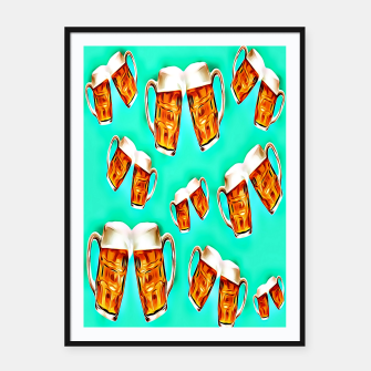 Beers forever-Blue Cartel con marco thumbnail image