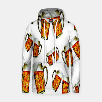 Beers forever-White Sudadera con capucha thumbnail image