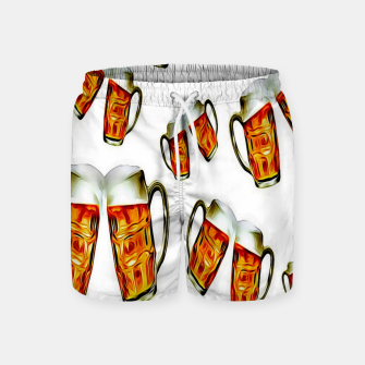 Beers forever-White Pantalones de baño thumbnail image