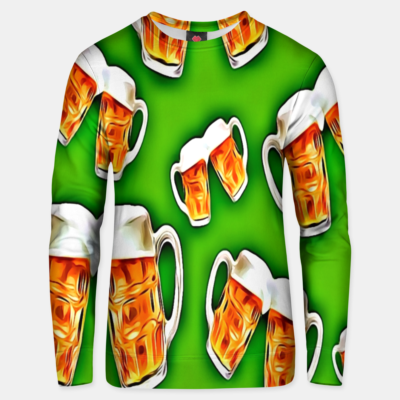 Image of Beers forever-Green Sudadera unisex - Live Heroes