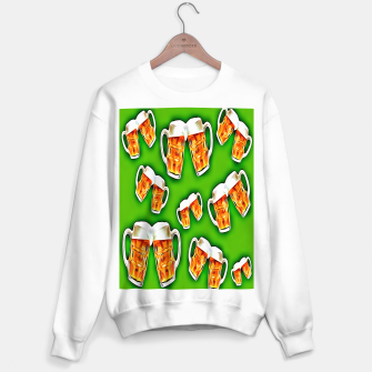 Thumbnail image of Beers forever-Green Sudadera regular, Live Heroes