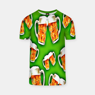Beers forever-Green Camiseta thumbnail image