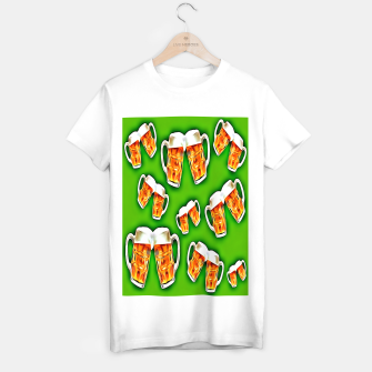 Beers forever-Green Camiseta Regular thumbnail image