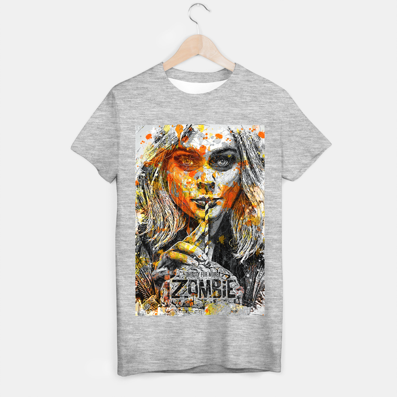 Image of Zombie T-shirt regular - Live Heroes