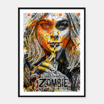 Zombie Framed poster thumbnail image
