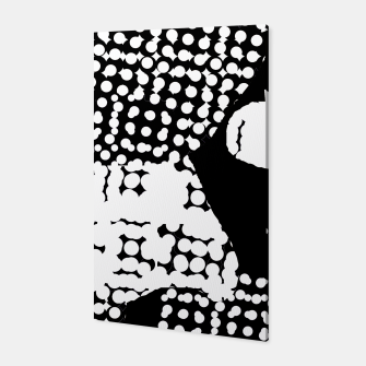 Thumbnail image of Pattern Abstrait Formes Noir/Blanc Toile, Live Heroes