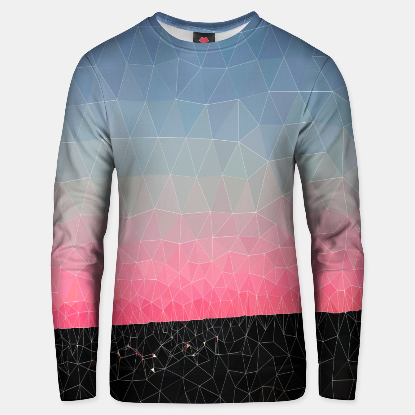 Image of Abstrait Coucher du Soleil Unisex pull - Live Heroes