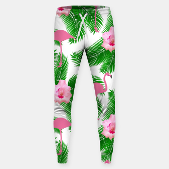 Tropical flamingo Sweatpants thumbnail image