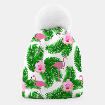 Tropical flamingo Beanie thumbnail image