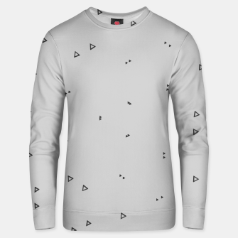 Thumbnail image of Pattern Abstrait Triangles gris Unisex pull, Live Heroes