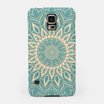 Thumbnail image of Turquoise and Yellow Mandala III Samsung Case, Live Heroes
