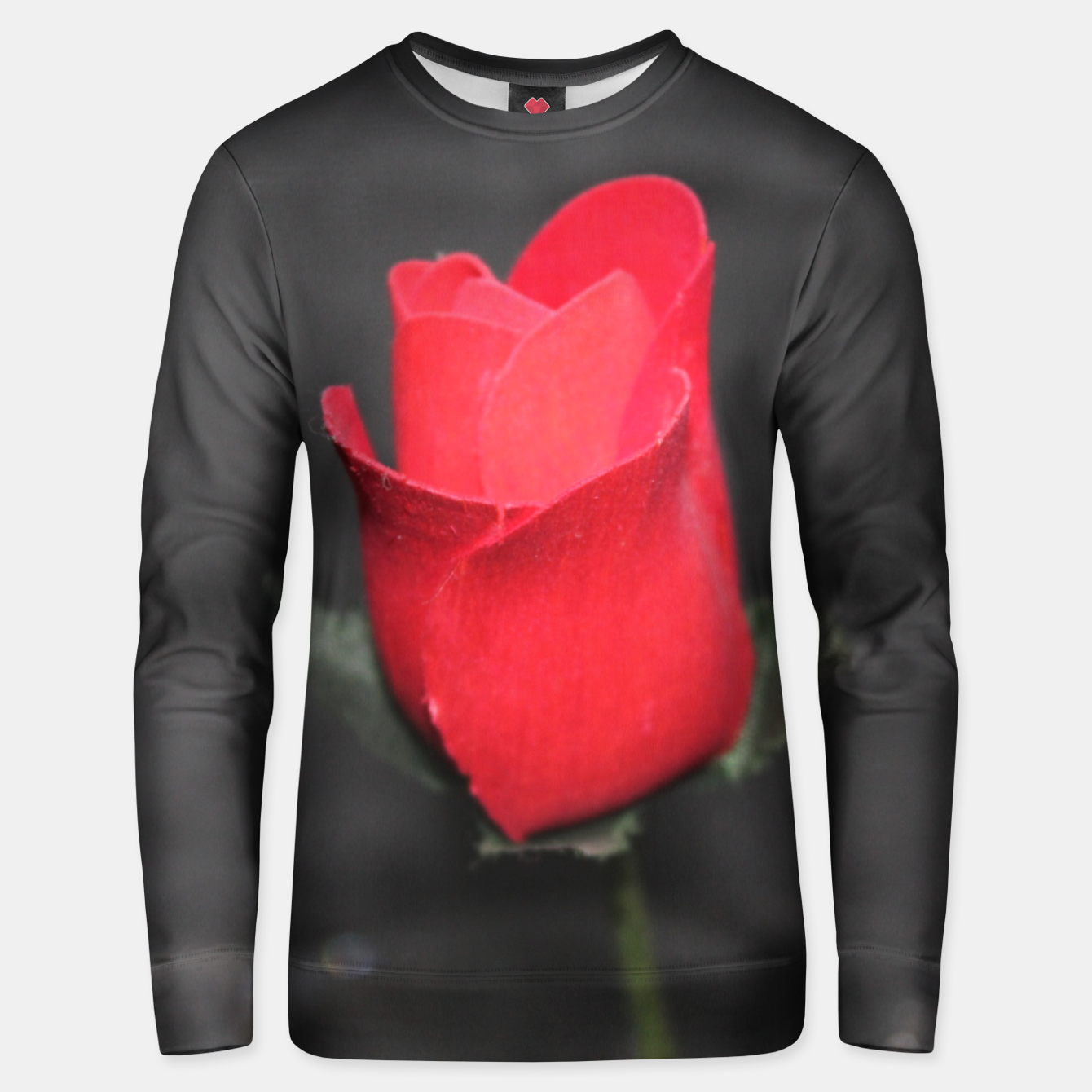 Image of Photo Roses Rouge Unisex pull - Live Heroes