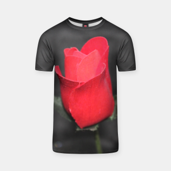 Photo Roses Rouge T-shirt thumbnail image