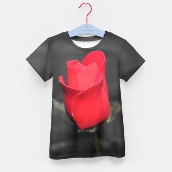 Photo Roses Rouge Enfantin t-shirt thumbnail image