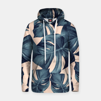 Monstera Leaves Pattern #6 #tropical #decor Kapuzenpullover thumbnail image