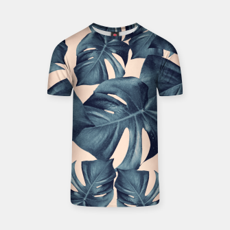 Miniaturka Monstera Leaves Pattern #6 #tropical #decor T-Shirt, Live Heroes