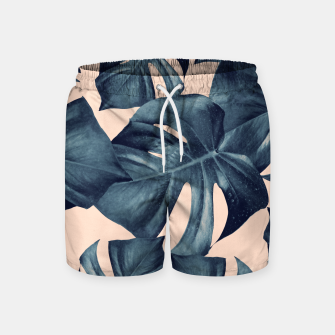 Monstera Leaves Pattern #6 #tropical #decor Badeshorts thumbnail image