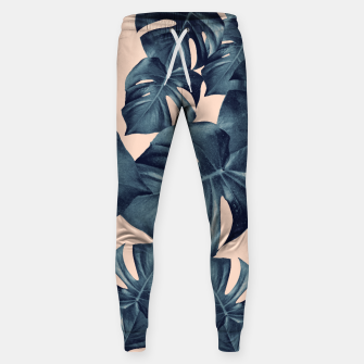 Miniaturka Monstera Leaves Pattern #6 #tropical #decor Hosen, Live Heroes