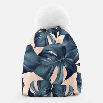Monstera Leaves Pattern #6 #tropical #decor Mütze thumbnail image