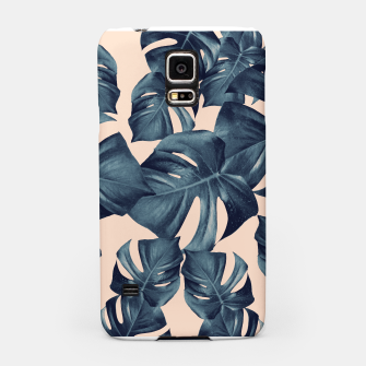 Miniatur Monstera Leaves Pattern #6 #tropical #decor Handyhülle für Samsung, Live Heroes