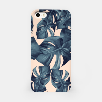Monstera Leaves Pattern #6 #tropical #decor iPhone-Hülle thumbnail image