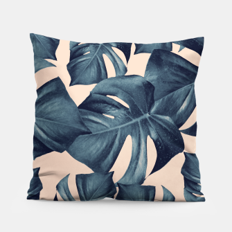 Monstera Leaves Pattern #6 #tropical #decor Kissen thumbnail image