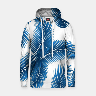 Thumbnail image of Blue palm Hoodie, Live Heroes