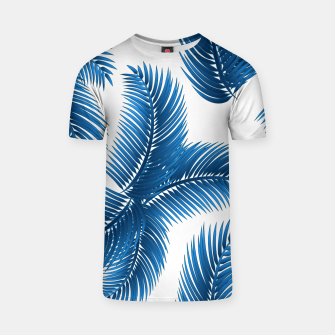 Blue palm T-shirt thumbnail image