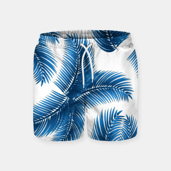 Blue palm Swim Shorts thumbnail image