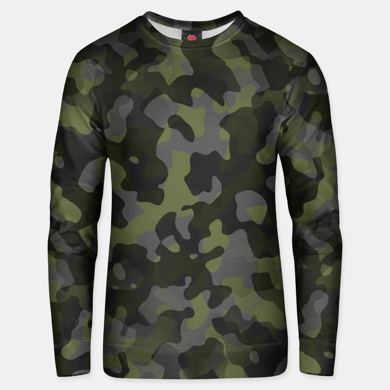 Image of Camouflage Vert Unisex pull - Live Heroes