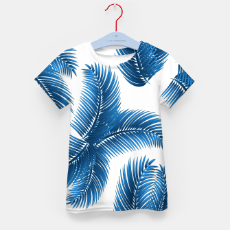 Blue palm Kid's t-shirt thumbnail image
