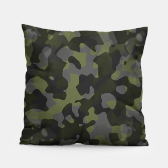 Camouflage Vert Coussin thumbnail image