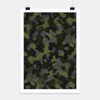 Camouflage Vert Affiche thumbnail image