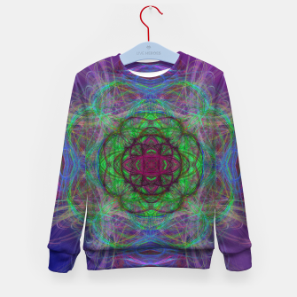 Thumbnail image of Mandala Psychedelic Kid's sweater, Live Heroes
