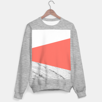 Thumbnail image of Marble Coral living Geometry Sweater regular, Live Heroes