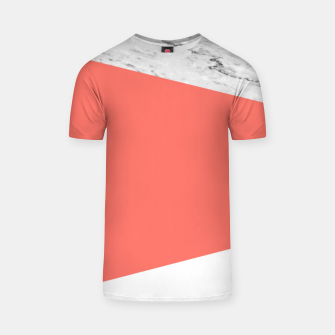 Thumbnail image of Marble Coral living Geometry T-shirt, Live Heroes