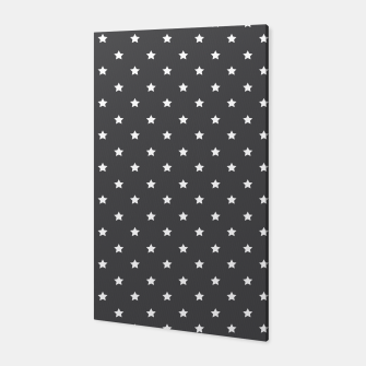 Thumbnail image of Pattern Etoiles Blanc/Gris Toile, Live Heroes