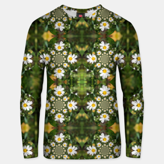 Miniature de image de Magic Field Summer Grass - Chamomile Flower with Bug - Polarity #1 Unisex sweater, Live Heroes