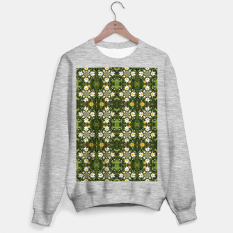 Miniature de image de Magic Field Summer Grass - Chamomile Flower with Bug - Polarity #1 Sweater regular, Live Heroes