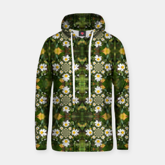 Miniature de image de Magic Field Summer Grass - Chamomile Flower with Bug - Polarity #1 Hoodie, Live Heroes