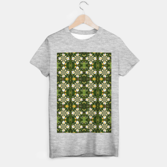 Miniature de image de Magic Field Summer Grass - Chamomile Flower with Bug - Polarity #1 T-shirt regular, Live Heroes