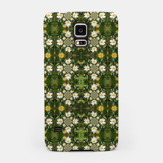 Miniature de image de Magic Field Summer Grass - Chamomile Flower with Bug - Polarity #1 Samsung Case, Live Heroes