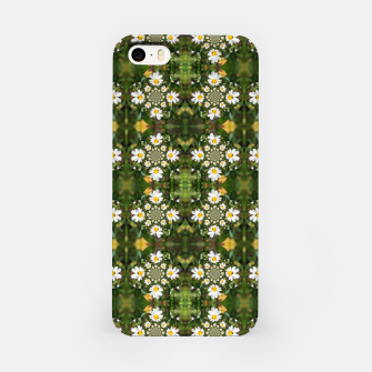 Miniature de image de Magic Field Summer Grass - Chamomile Flower with Bug - Polarity #1 iPhone Case, Live Heroes